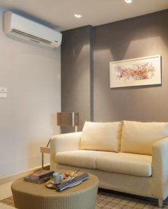 Voorbeeld woonkamer De Airco Specialist