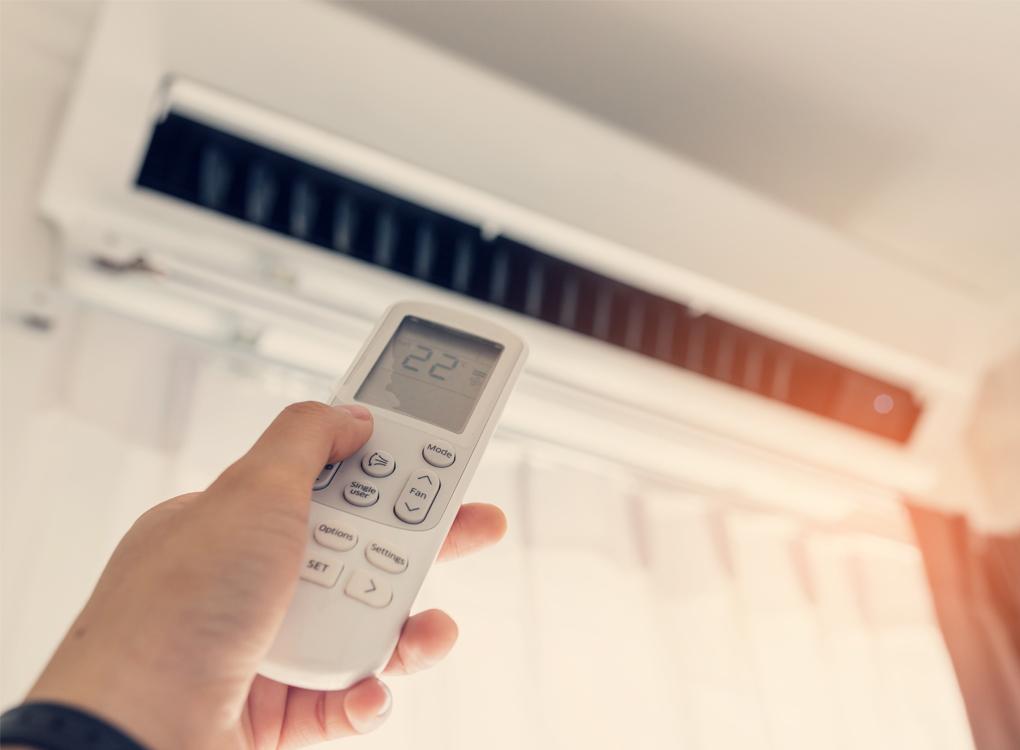 Airco-installateur-Oegstgeest-Afstandsbediening