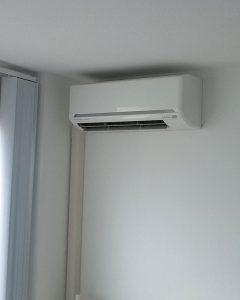 Airco installatie voorbeeld