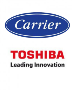 carrier toshiba airco bedrijfspand